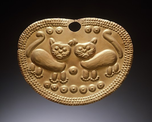 Nose Ornament, 2nd–6th century. Peru - Gold