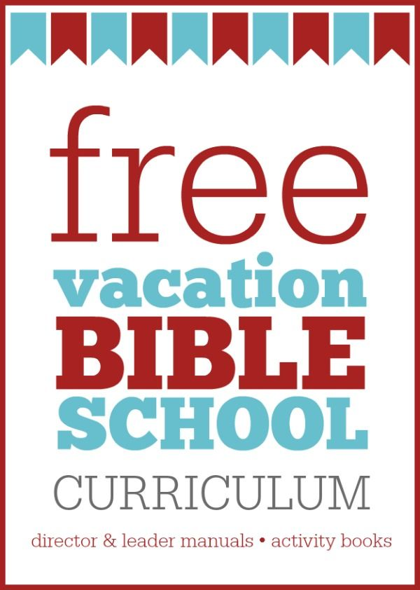 FREE VBS Curriculum for churches -- includes director's manual, activity books, and leader resources.