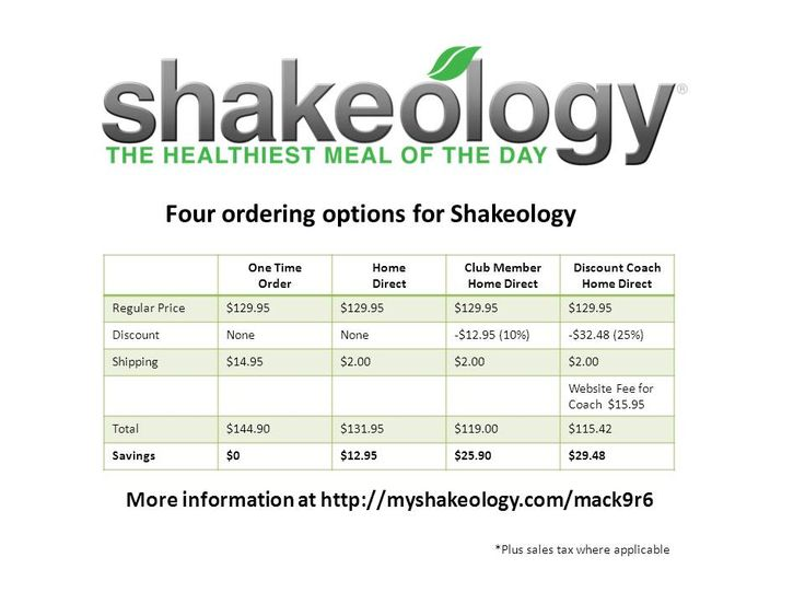 Beachbody shakeology coupon codes