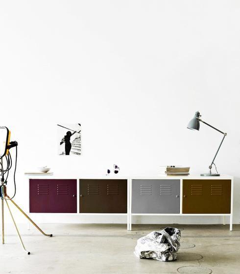 Casiers Ikea peints