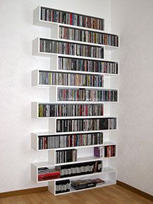 Cubit Modular Storage System-shows CD's, but why not pictures? WHY NOT MAKE THEM…