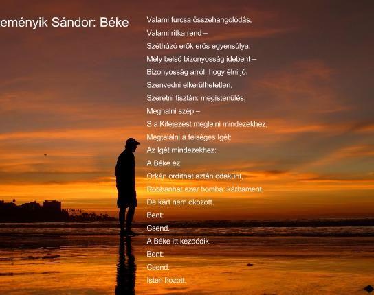 Reményik Sándor: Béke