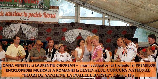 Premiile Enciclopediei Muzicale la Flori de Sanziene