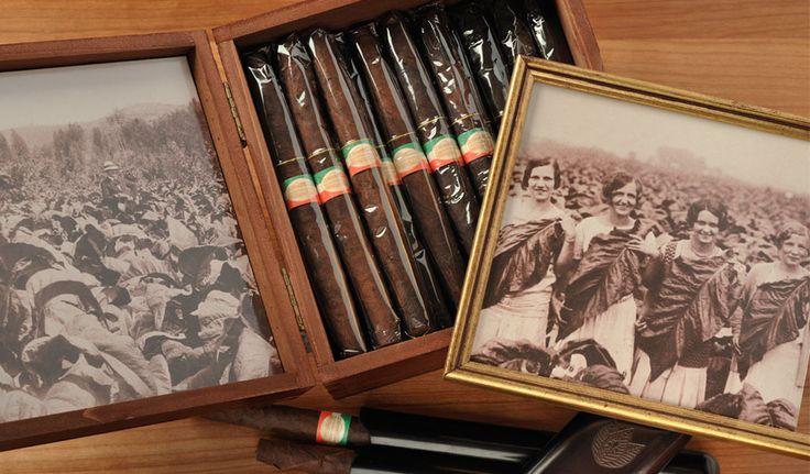 30-cigar Antico Toscano Cigar Box #toscanocigars