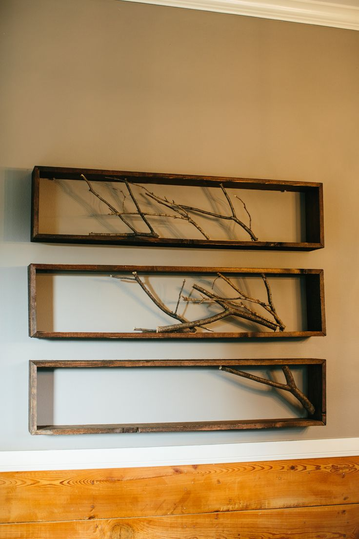 Framed Branch featured in Season 2 Episode 1- easy DIY!