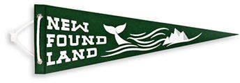 Drake General Store Newfoundland Felt Pennant..a little piece of home to hang in your home..#ad #pennant #newfoundland #newfie #walldecor