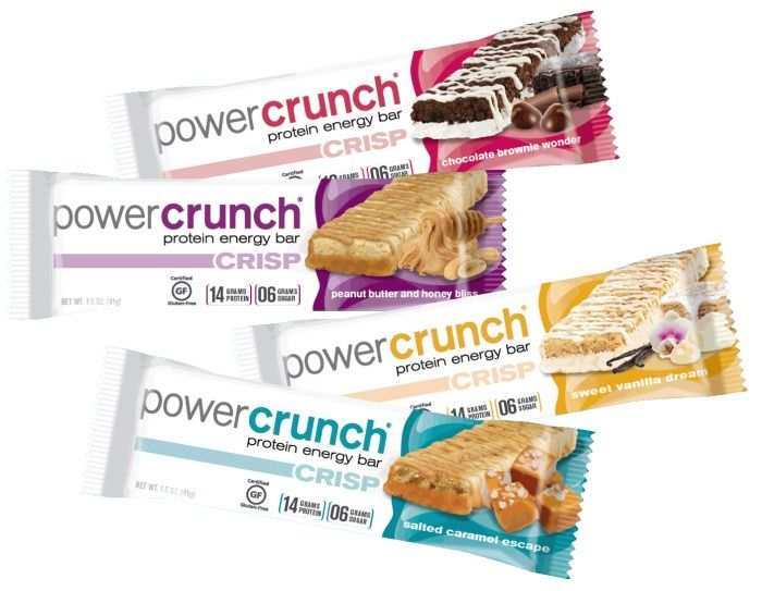 Angeliz-Guevara Power Crunch bars.. YUM!