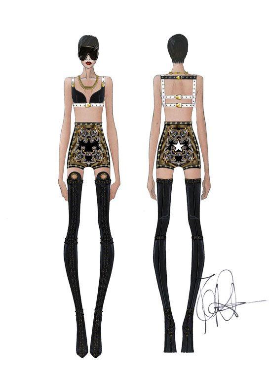 Riccardo Tisci signe les costumes de scène de Rihanna http://www.vogue.fr/mode/news-mode/diaporama/riccardo-tisci-signe-les-costumes-de-scene-de-rihanna/12435#!2