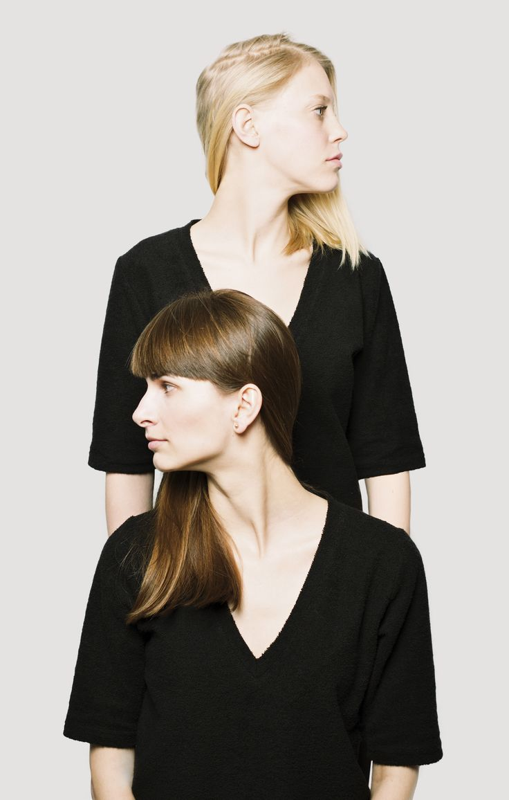 Tee from our new collection. Simple, bamboo cotton blend, deep v-neck, higher loops. #allblack #minimalist #simple #terrycloth #beautifulmodels