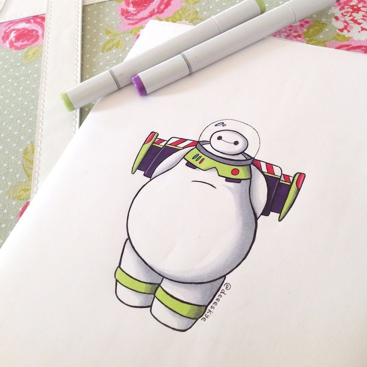 Baymax Lightyear by DeeeSkye on deviantART Rate your pain in a scale of one to infinity and beyond.