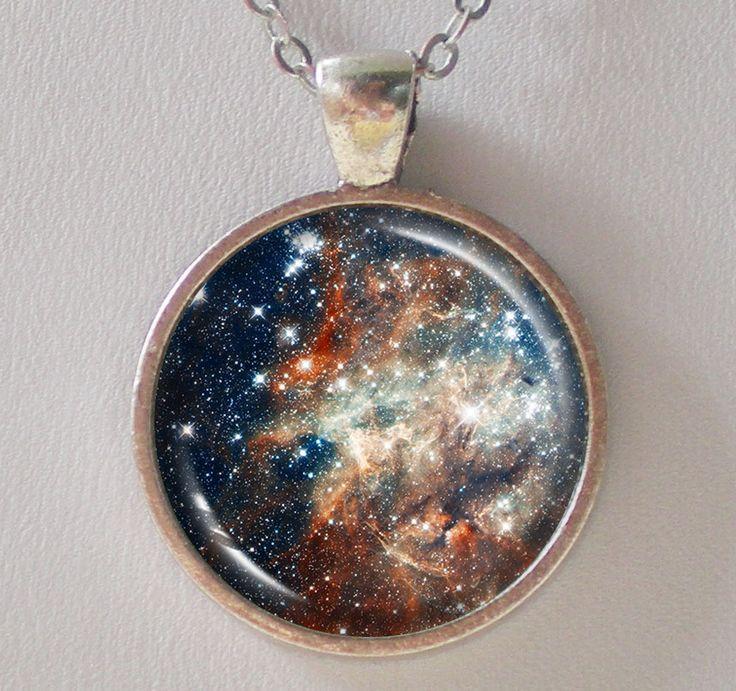 Constellation Pendant Necklace -30 Doradus- Galaxy Series