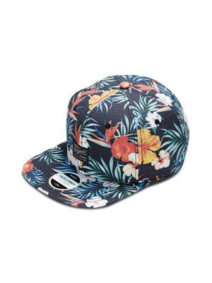 Jack & Jones £15 FLORAL CAP, Navy Blazer