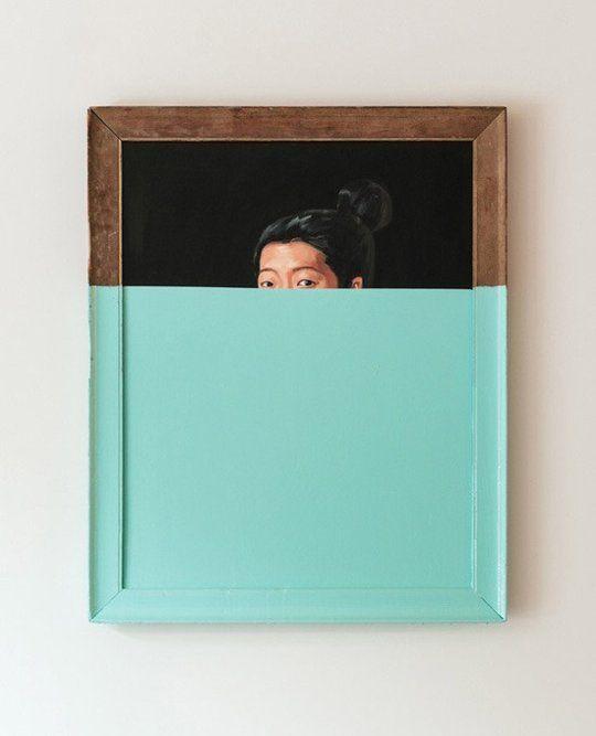 5 Ways to Update Thrift Store Art