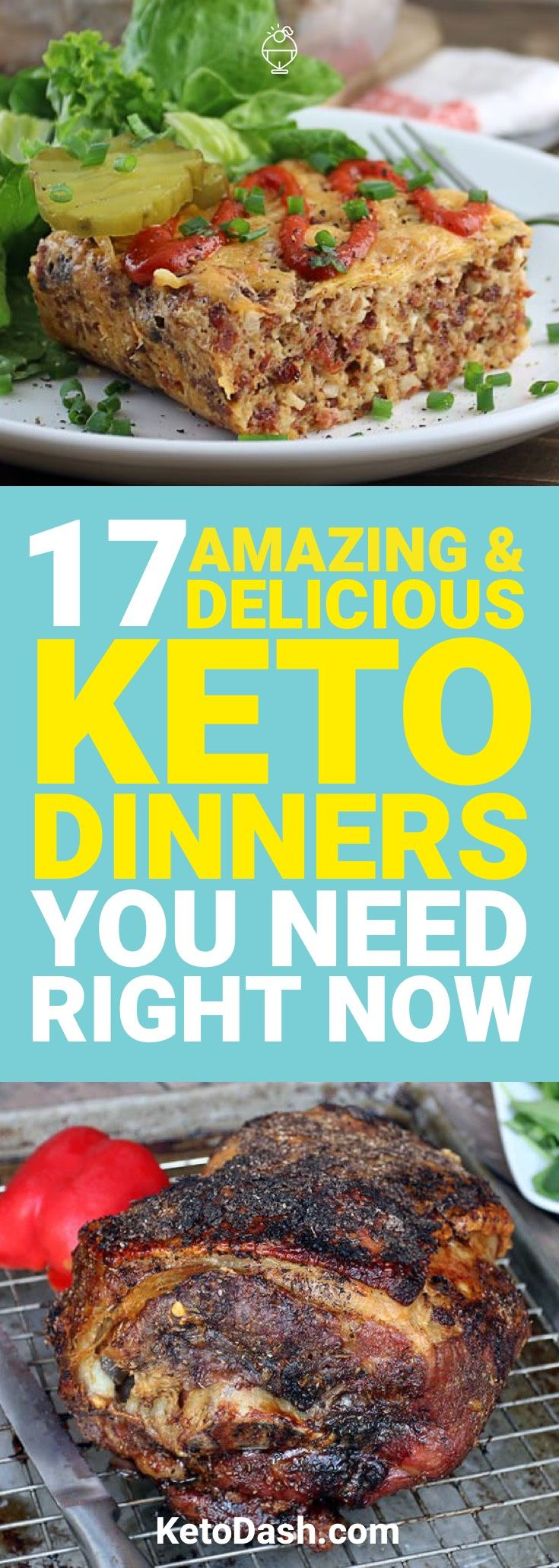 The ketogenic diet allows you to have a wide variety of different foods. Here are 17 keto dinners that you need to have right now.