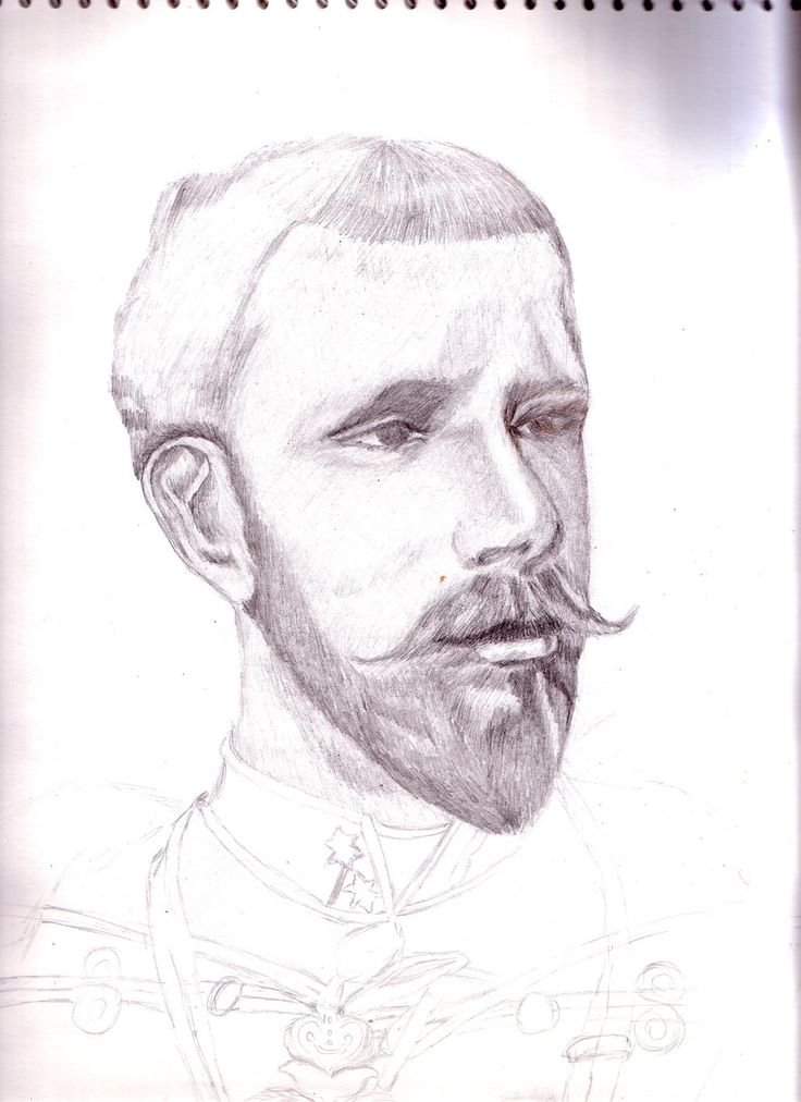 Portrait Crown prince Rudolph of Austria by maya40.deviantart.com on @deviantART