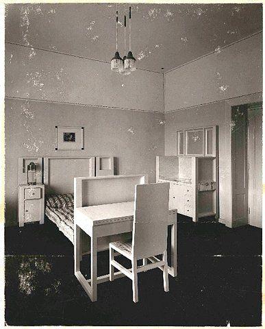 Josef hoffmann purkersdorf sanatorium interior home for Interior design wien
