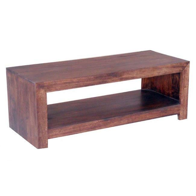 Wooden Tv Stand Dakota Mango Hardwood Plasma Unit