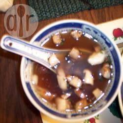 Foto da receita: Sopa japonesa de cogumelos