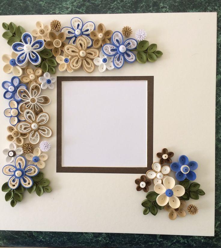 Рамки для картинок из квиллинга