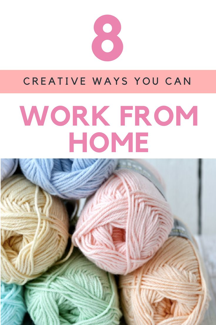 Want to earn an income from home? Here are 8 creative ways you can make money from home!