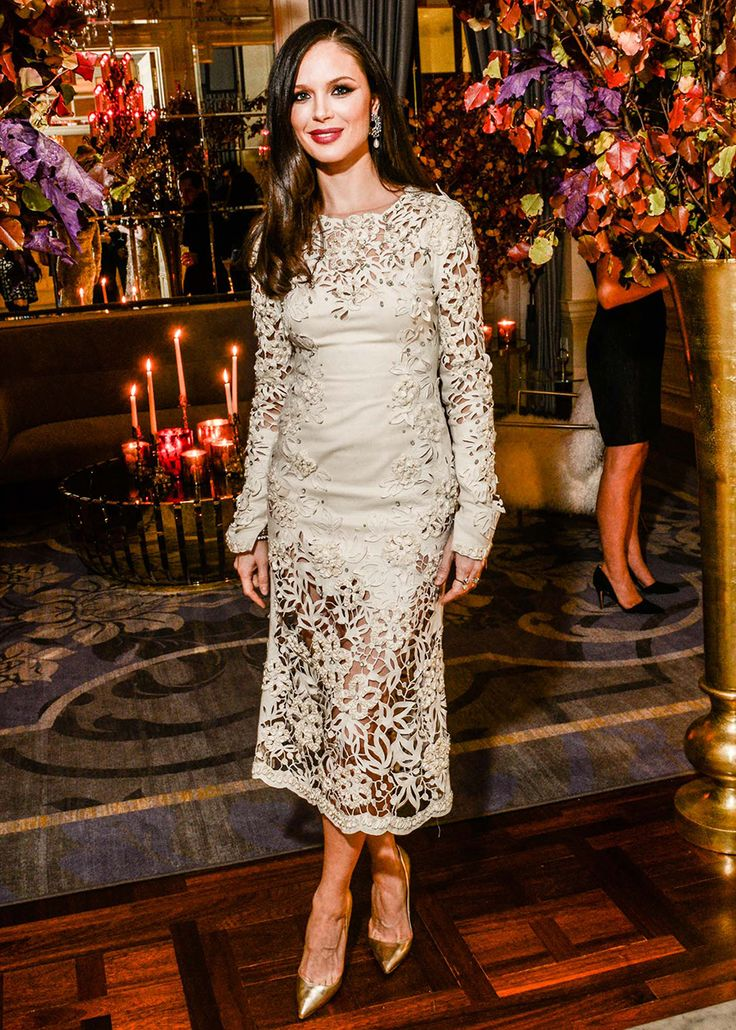 Georgina Chapman - The St. Regis Hosts a Supper Celebrating Georgina Chapman and Keren Craig of Marchesa
