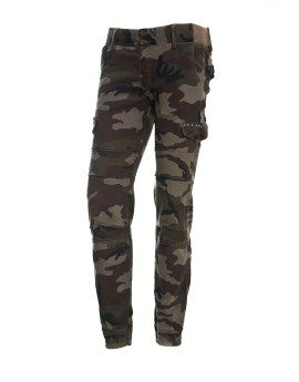 Camouflage track pants