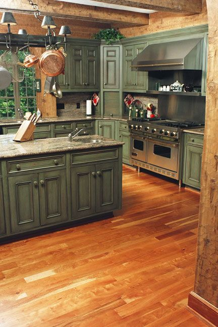 Early american featured kitchen cabinetry pinterest for Early american kitchen cabinets