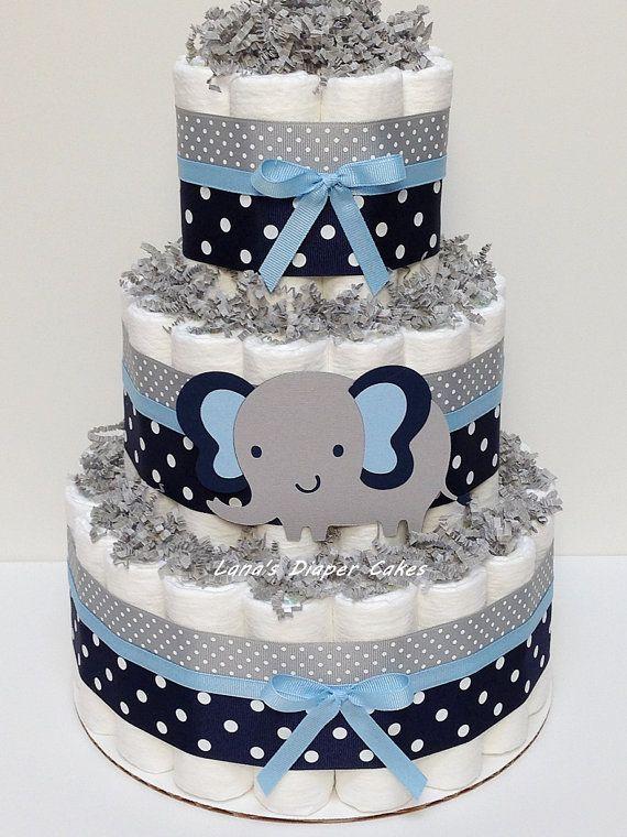 LOT de 3-3 niveaux & gâteau de couches 2 par LanasDiaperCakeShop