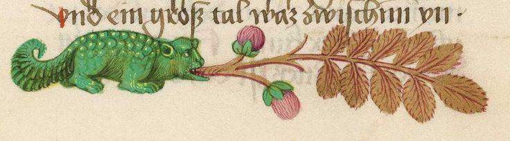 Furtmeyr-Bibel (Deutsche Bibel, Altes Testament, Bd. 1: Genesis - Rut) um 1468 - 1470 Sign. Cod.I.3.2.III (Oettingen-Wallersteinsche Bibliothek) Folio: 272r