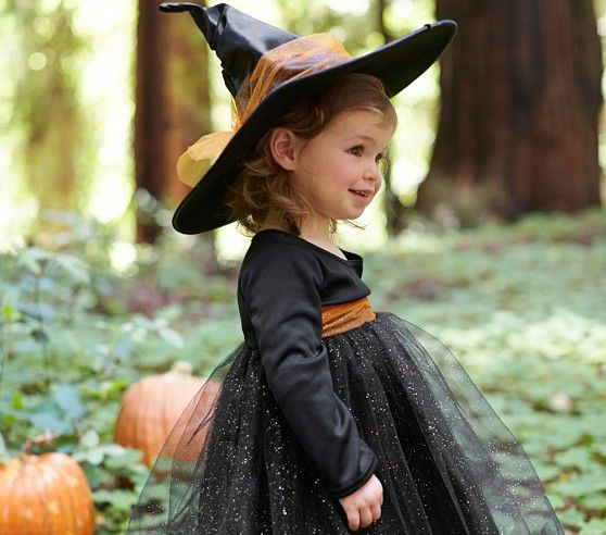 Baby Witch Tutu Costume | Pottery Barn Kids
