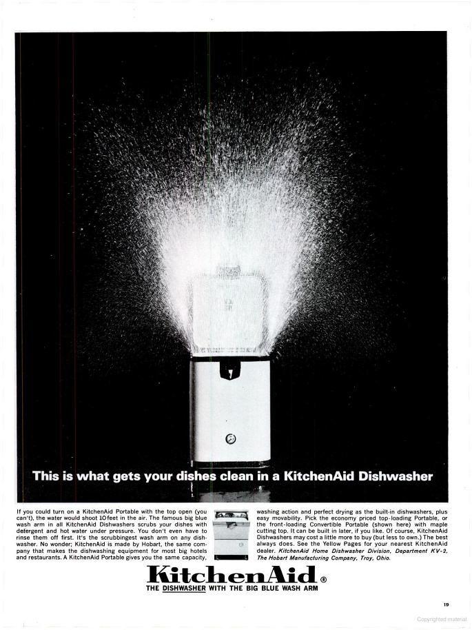 Hobart Kitchenaid Dishwasher