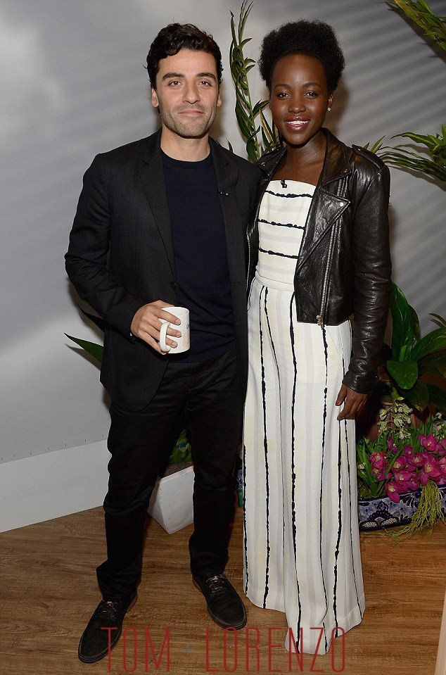 "Oscar Isaac and Lupita Nyong'o on ""Despierta America""   Tom + Lorenzo"