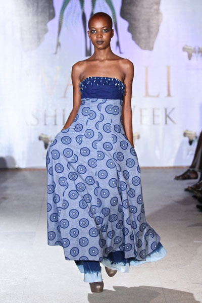 Bongiwe Walaza's showcase @ Swahili Fashion Week 2011