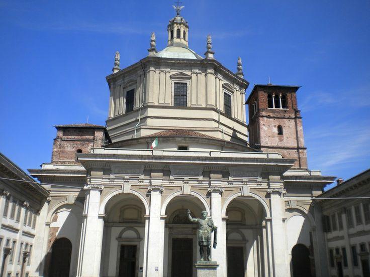 S.Lorenzo #milano #milanodavedere www.milanodavedere.com