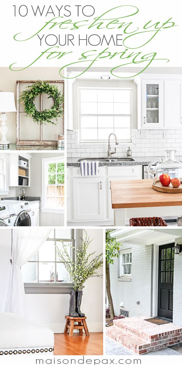 10 practical ways to freshen up your home for spring | maisondepax.com