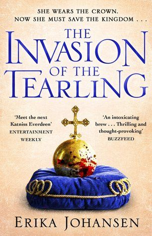 The Invasion of the Tearling (The Queen of the Tearling #2) by Erika Johansen #fantasy #YAfantasy #ireadYA
