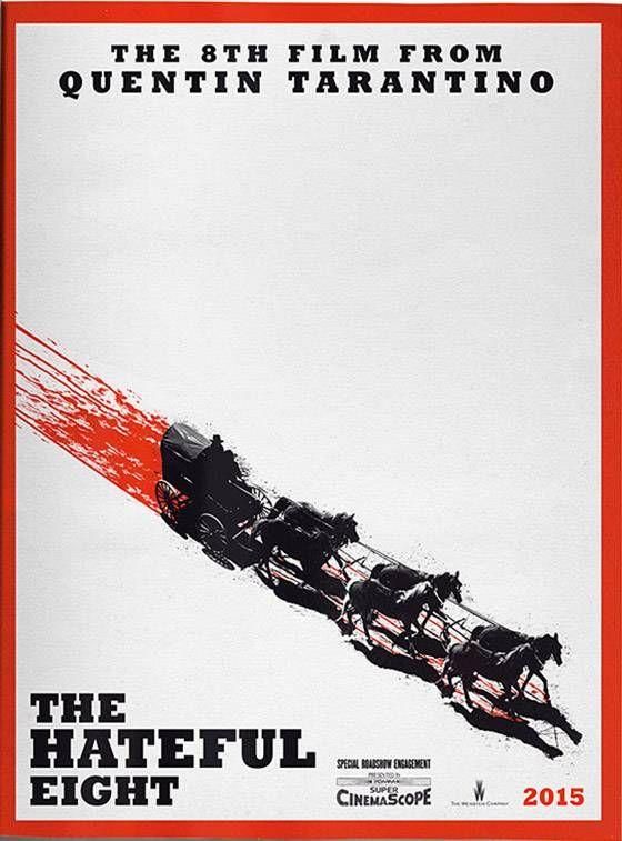 """""""The Hateful Eight"""", novo filme de Quentin Tarantino, ganha um primeiro cartaz…"""