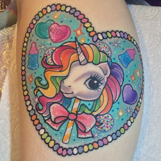 My Little Pony Tattoos Are All About Tolerance