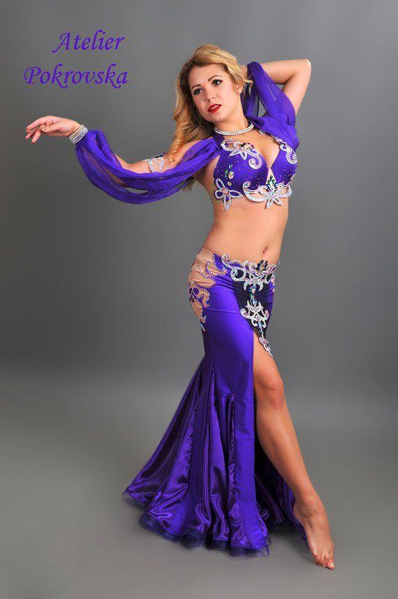 8bdfc324b Purple Dream - Professional belly dance costume from Atelier Pokrovska