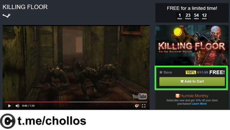 Videojuego Killing Floor para Steam GRATIS - http://ift.tt/2t001ud