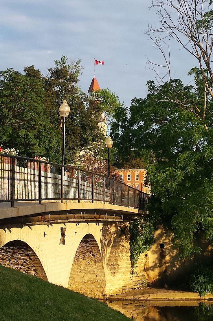 Church St. Bridge, St Marys, ON Photo by A. K. Busby