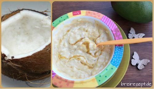 Kokosmilchreis mit Mango ist ein exotisches veganes Rezept, das sich für die ganze Familie inklusive Baby eignet und keine Laktose enthält