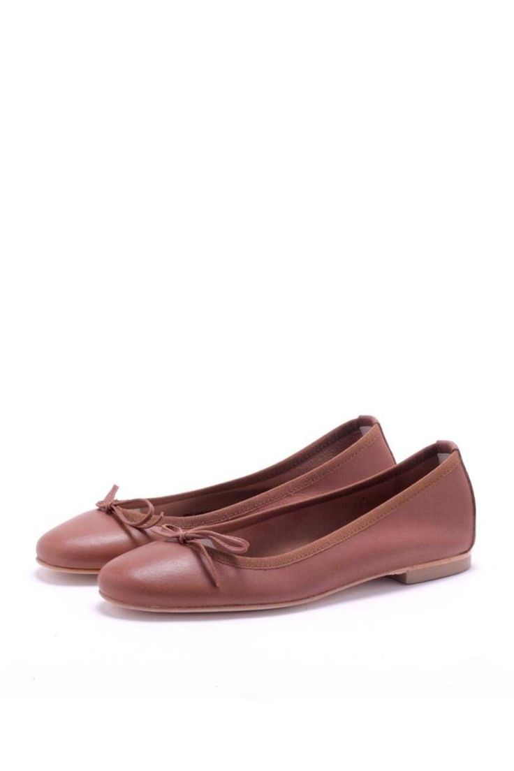 Classic tanned SOFT leather ballet shoes. Genuine leather sole.   Classic Ballet Shoes by Michele Lopriore. Shoes - Flats - Ballet Florida