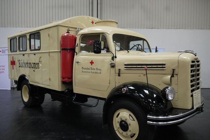 Borgward B4500 Kitchen/Food Truck 1958