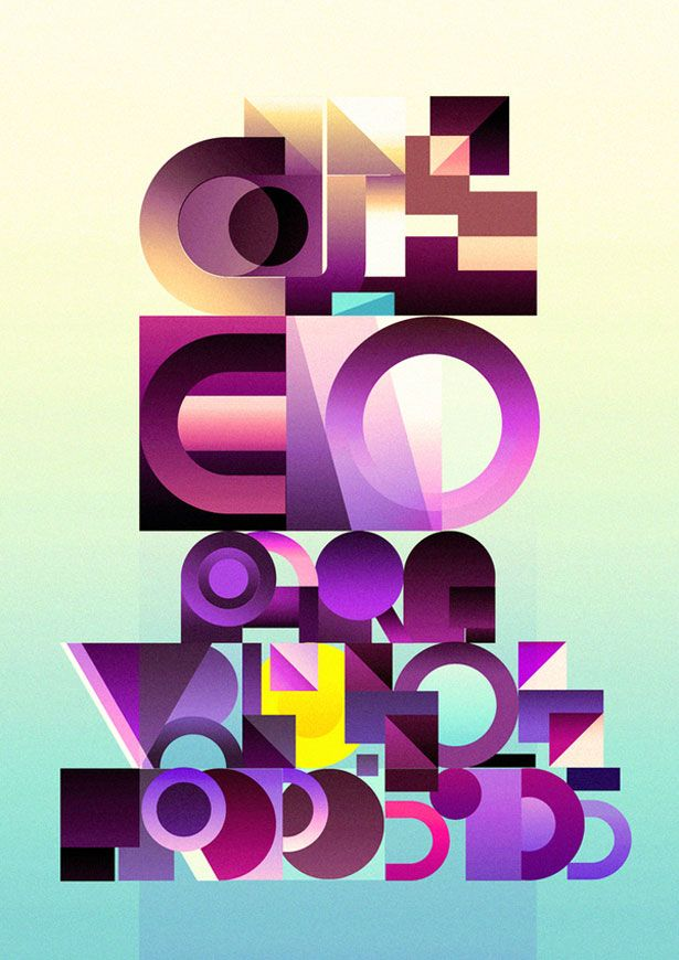 Mind blowing examples of experimental typography 52