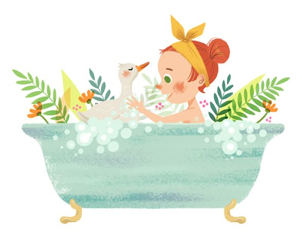 Bathe with duck on Behance