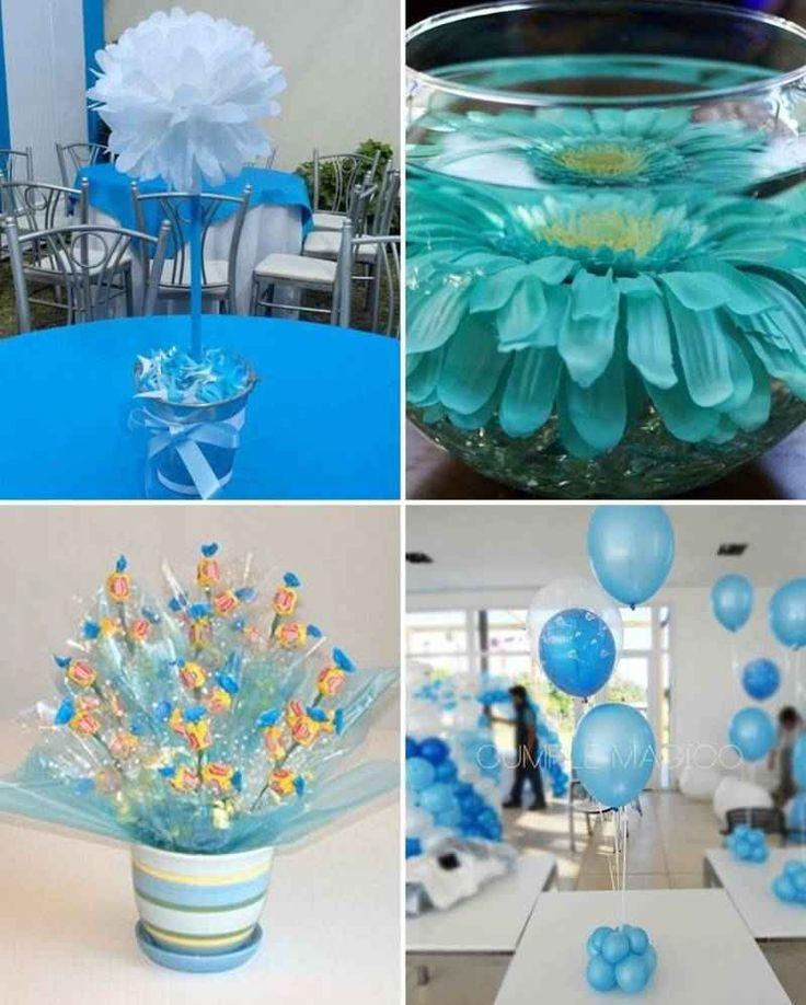 centros de mesa azul turquesa (4)-tile