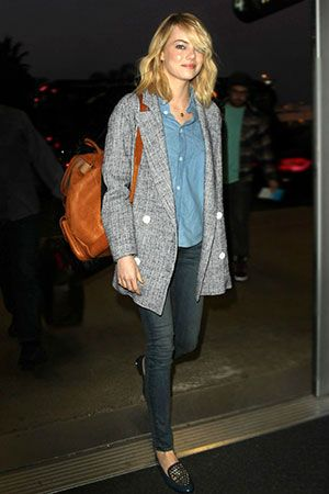 3 Tips for Pulling off Menswear, Straight from Emma Stone's Closet
