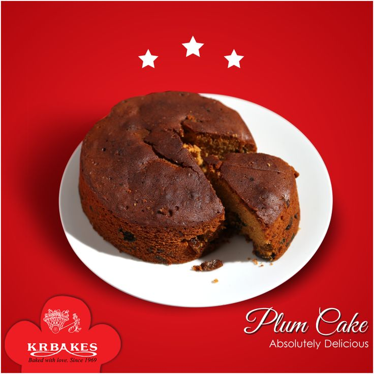 A party without a cake is just a meeting. Absolutely Delicious Plum Cakes From KR BAKES since 1969  #KRBakes #KRBakesSince1969 #BakedWithLove #PlumCake