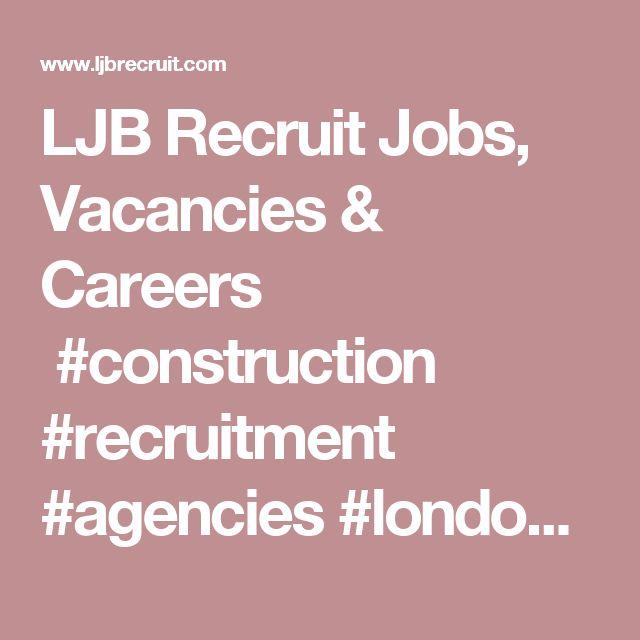 Best  Construction Recruitment Agencies Ideas On